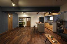 No.0345 ヨガのあるライフスタイルを豊かにする広々リビングの空間(マンション) | リフォーム・マンションリフォームならLOHAS studio(ロハススタジオ) presented by OKUTA(オクタ)