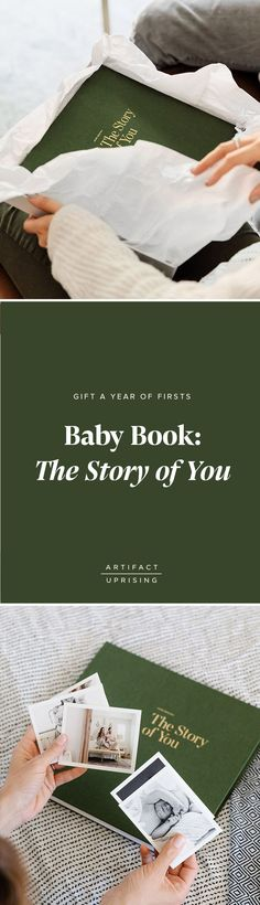 Gift a year of firsts. The Story of You –– @artifactuprsng's take on the classic baby book –– is the perfect gift for that new mom in your life.