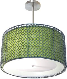 @rosenberryrooms is offering $20 OFF your purchase! Share the news and save!  Ali Silver Hanging Lamp #rosenberryrooms