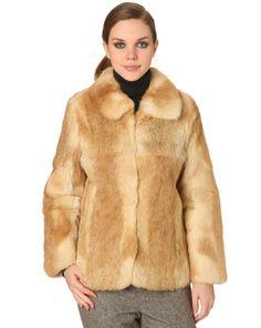 La vest fourrure beige naturel de Le Mont Saint Michel