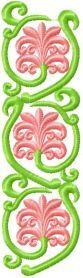 Flower Decoration 1 machine embroidery design. Machine embroidery design. www.embroideres.com