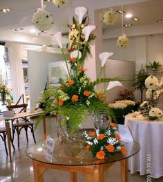 1000 images about decoracion con globos on pinterest for Adornos para bodas con plantas