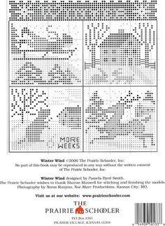 winter wind - The Prairie Schooler  (...cr...each little scene is about 30x35)