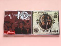 Lot of 2 No Doubt Gwen Stefani CD singles European/UK It's My Life Rich Girl