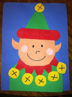So cute! From http://teacherbitsandbobs.blogspot.com/2011/12/magic-elf-art.html