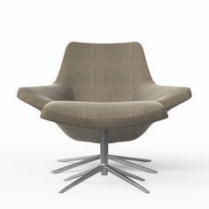 Bu0026B Italia   Metropolitan Lounge Chair ...