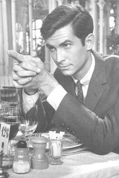 Actor Anthony Perkins