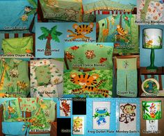 Fisher Price Rainforest Nursery and Toddler Room. Bedding, Decor and Lighting {iF OnLy!}