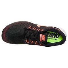 b06e8afe4fcf8 Mens Nike 5.0 Black HYPER Orange Athletic Running Shoes Sz 11 for sale  online | eBay