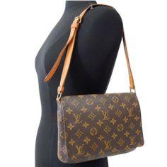 LOUIS VUITTON - MUSETTE TANGO - Shoulder Bag Monogram LV Handbag Purse Auth #LouisVuitton #Satchel