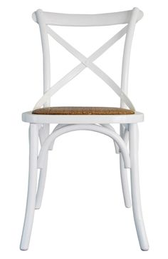 Provincial Crossback Chair - White - $109
