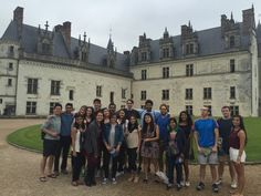 This week, Programs Assistant Lily Mac Mahon from our Paris Study Center shares with us her favorite excursion this summer: a trip to the Loire Valley and a tour of the sumptuous palaces that dominate its landscape.
