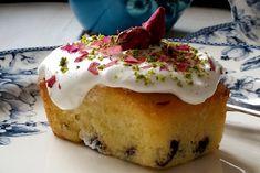 Pınar's Desserts: Zeytinyağlı Cranberry & Limonlu Kek