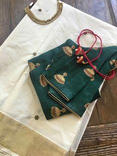 Hi pls see this one Saree Tassels Designs, Sari Blouse Designs, Designer Blouse Patterns, Set Saree, Saree Dress, Indian Party Wear, Indian Wear, Stylish Blouse Design, Saree Look