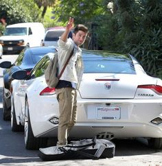 "Logan Henderson from Nickelodeon's ""Big Time Rush"" buys his second Fisker Karma. Why is one not enough?"