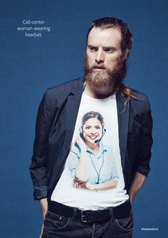 Adobe's Cheeky New Clothing Line Celebrates Some of the Worst Stock Photos Ever…