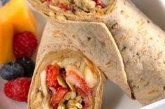 Healthy Peanut Butter Breakfast Wrap Recipe | Outlaw Fitness