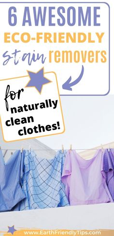 If you think you have to turn to toxic and chemical-laden stain removers to get your clothes clean, think again! These best eco-friendly laundry stain removers can naturally and effectively remove every type of stain. You'll never have to throw away a favorite piece of clothing again when you use these amazing eco-friendly laudry stain removers to get your clothes clean. eco-friendly|natural|laundry stain removers|zero waste|homemade Laundry Stain Remover, Chemical Free Cleaning, Green Living Tips, Stain Removers, Natural Parenting, Natural Lifestyle, Minimalist Lifestyle, Lifestyle Group, Natural Cleaning Products