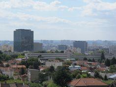Mozinor, usine verticale à Montreuil. Vue depuis la terrasse