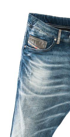 Diesel NARROT 0606D Jogg jeans denim