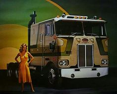 Classic Peterbilt ad 352