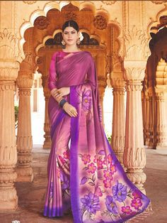Style Array Present Beautiful Multi Color Hand Print Tusser Silk Saree. Buy This Attractive Look Beautiful Multi Color Hand Print Tusser Silk Saree Tussar Silk Saree, Sari Fabric, Saree Styles, Saree Wedding, Saree Collection, Beautiful Hands, Daily Wear, Lehenga, Indian