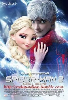 Jack and Elsa - Elsa & Jack Frost Photo (37088849) - Fanpop