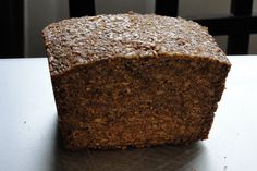 German Blackbread (no flour bread) recipe