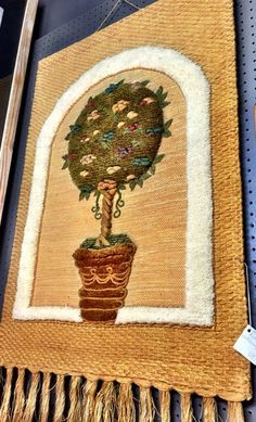 Groovy-up your room w this colorful, retro wall hanging! $68.00. #GaslampAntiques B2012C $68 https://www.pinterest.com/pin/429108670725798420/