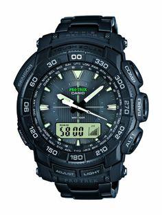 Casio - PRG-550BD-1ER - Montre Homme - Quartz Digital - Bracelet - Acier inoxydable noir Casio http://www.amazon.fr/dp/B009NHEHJQ/ref=cm_sw_r_pi_dp_mhnJtb1KPCX4F4BA