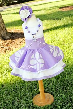 Sophia the First Inspired Dress-Up Apron