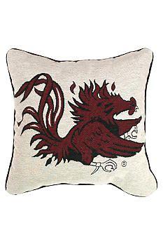 South Carolina Gamecocks decorative tapestry pillow