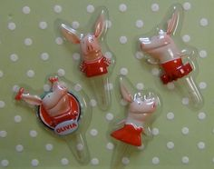 Olivia the Pig Cupcake Picks by ChristyMaries83 on Etsy