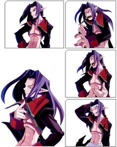 Disgaea: Hour of Darkness: Vyers Facial Expressions