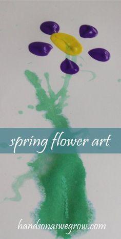 spring flowers art