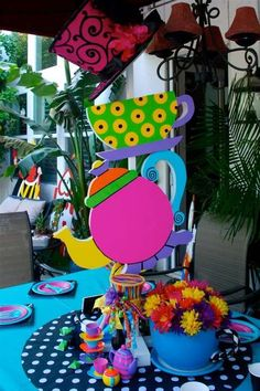 Alice in Wonderland / Mad Hatter Tea Birthday Party Ideas | Photo 6 of 12 | Catch My Party