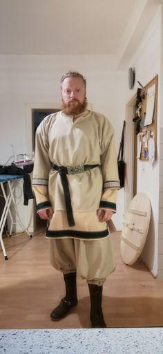 Wikinger Tunika Rushose Normcore, Feelings, Style, Viking Tunic, Swag, Outfits