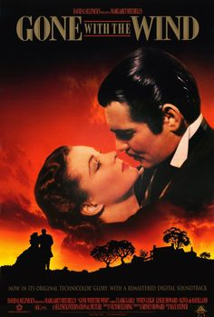 Gone With The Wind 27x40 Movie Poster (1998)