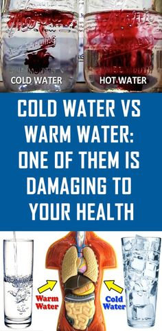 Cold Water Vs Warm Water One of Them is Damaging to Your Health