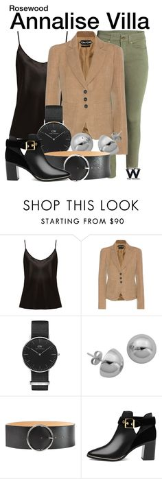 """""""Rosewood"""" by wearwhatyouwatch ❤ liked on Polyvore featuring La Perla, Tom Ford, Daniel Wellington, Lord & Taylor, McQ by Alexander McQueen, Ted Baker, television and wearwhatyouwatch"""
