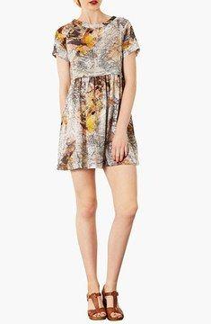 Topshop Map Print Tunic Dress on shopstyle.com