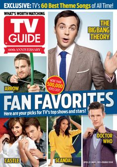 April 22/April 29, 2013: Fan Favorites Awards winners, including Doctor Who... And some other stuff...