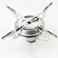 Lightweight Large Burner Classic Camping and Backpacking Stove. For Butane and Propane Canisters - http://www.campingandsleepingbags.com/lightweight-large-burner-classic-camping-and-backpacking-stove-for-butane-and-propane-canisters/