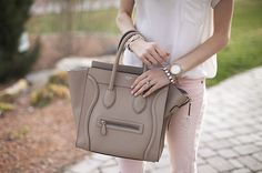 grey celine bag