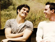 Daniel Sharman - love his smile!