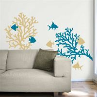 Coral Reef & Fish - Wall Decals