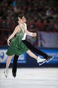 Virtue and Moir, their elegant execution of the most difficult steps and flawless symmetry makes everything look easy.