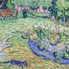 Daubigny's Garden (detail) by Vincent van Gogh | Lone Quixote