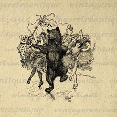 medieval dancing bear - Google Search