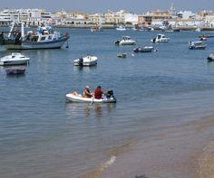 Playa El Cantil en Isla Cristina (Huelva)